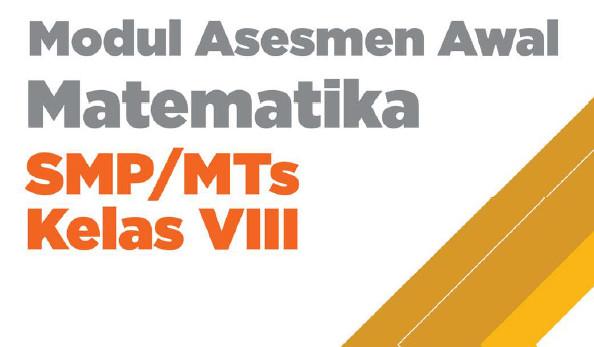 Modul Asesmen Diagnosis Matematika Kelas VIII SMP/MTs