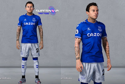 PES 2020 Tattoo Bernard by Supernova