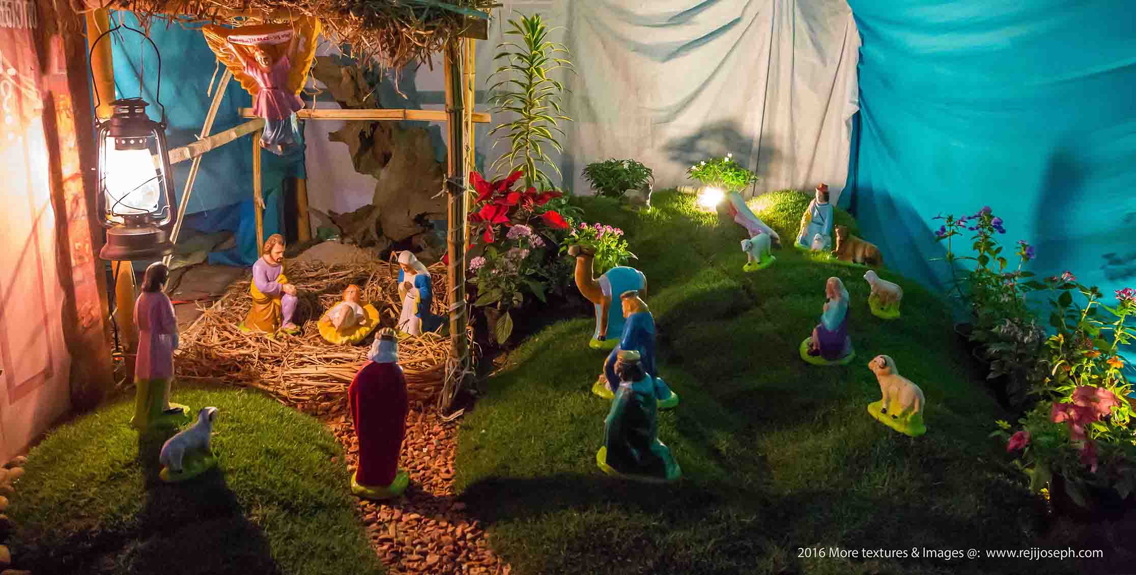 Christmas crib Pulkoodu St. George Forane Church Edappally 00012