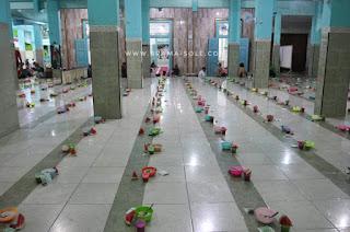 bubur india di masjid pekojan