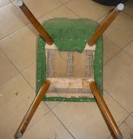 renowacja krzesła patyczak