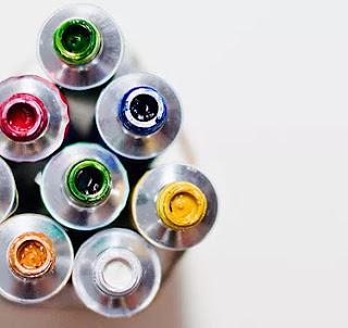 CORSI DI PITTURA ad olio A MILANO presso Officina artistica - tubi di colore a olio