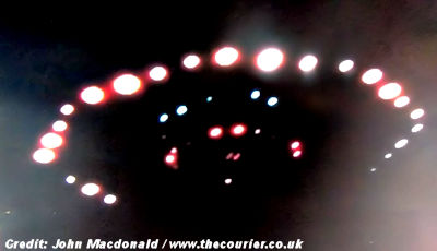 Alien Craft Photographed By Fife Man?