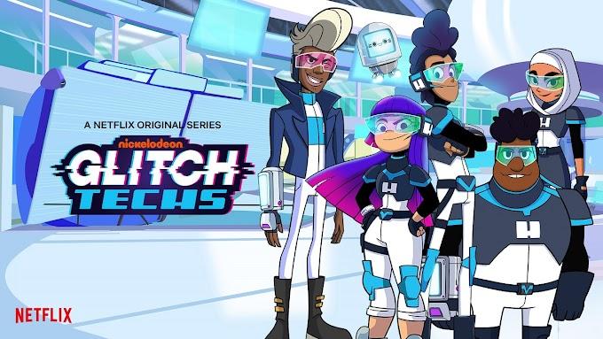 Resenha animação Caçadores de Bugs (Glitch Techs) . Animação de comédia e ficção científica nerd da Netflix