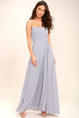 vestidos formales con lunares