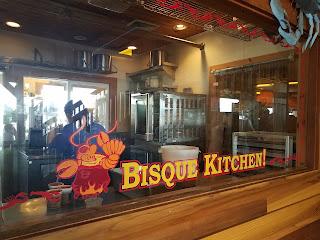 Boardwalk Put in Bay, Lobster Bisque, best eats on PIB