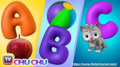 ABC Song with ChuChu Toy Train - Alphabet Song for Kids