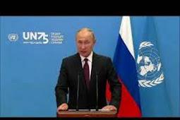 Inilah Pidato Presiden Federasi Rusia, Vladimir Putin di Debat Umum PBB ke 75