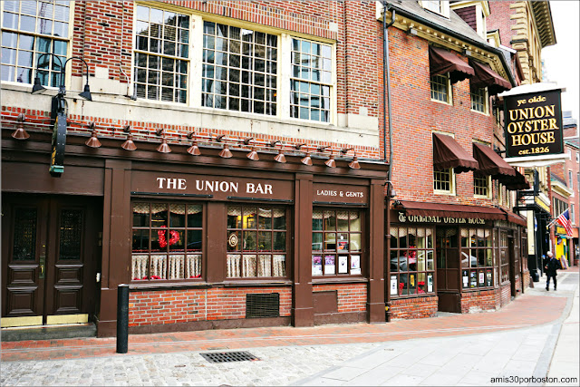Union Oyster House en Boston