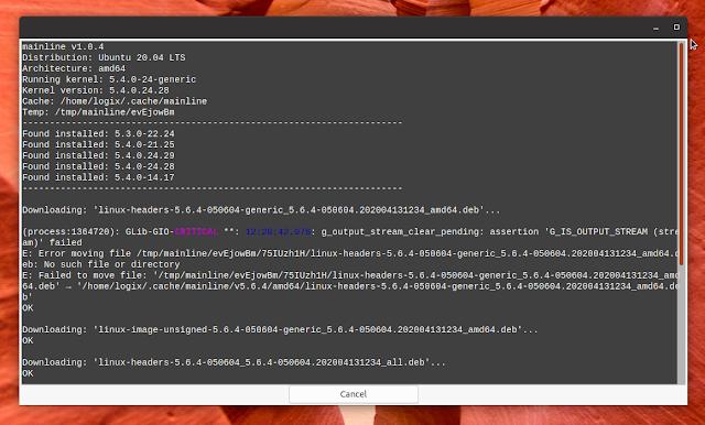 Installing latest mainline kernel in Ubuntu Linux