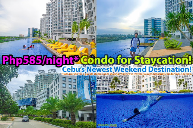 Mactan Newtown Cebu Affordable Condo For Weekend Staycation With Infinity Pool Gym Beach