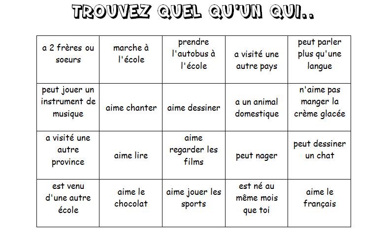 ice breaker bingo template - bonne id e la rentr e ice breaker name bingo