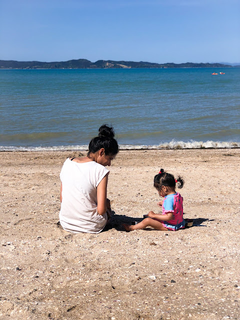 baby friendly new zealand beach