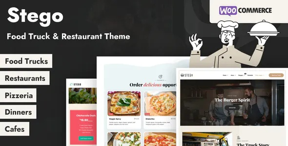 Food Truck and Restaurant Theme
