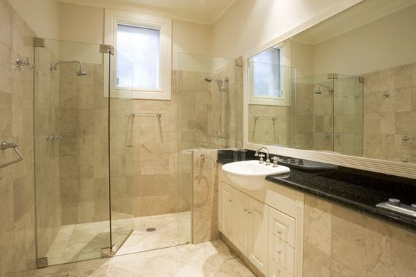 Natural Bathroom Design Ideas ~ Choosing natural stone bathroom design home