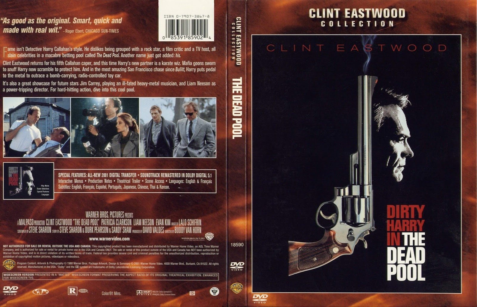 The Clint Eastwood Archive The Dead Pool 1988