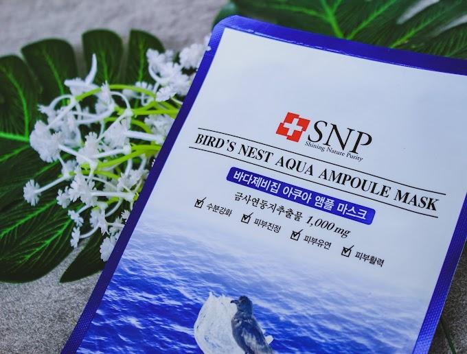 Kulit Wajah Sehat Dengan SNP Ampoule Sheet Mask
