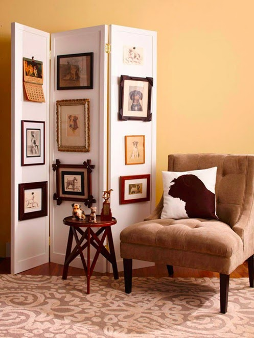 Elite Decor: 2014 Easy DIY Folding Screens Ideas : Room ...