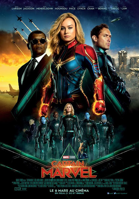 Film Captain Marvel L'Agenda Mensuel - Mars 2019