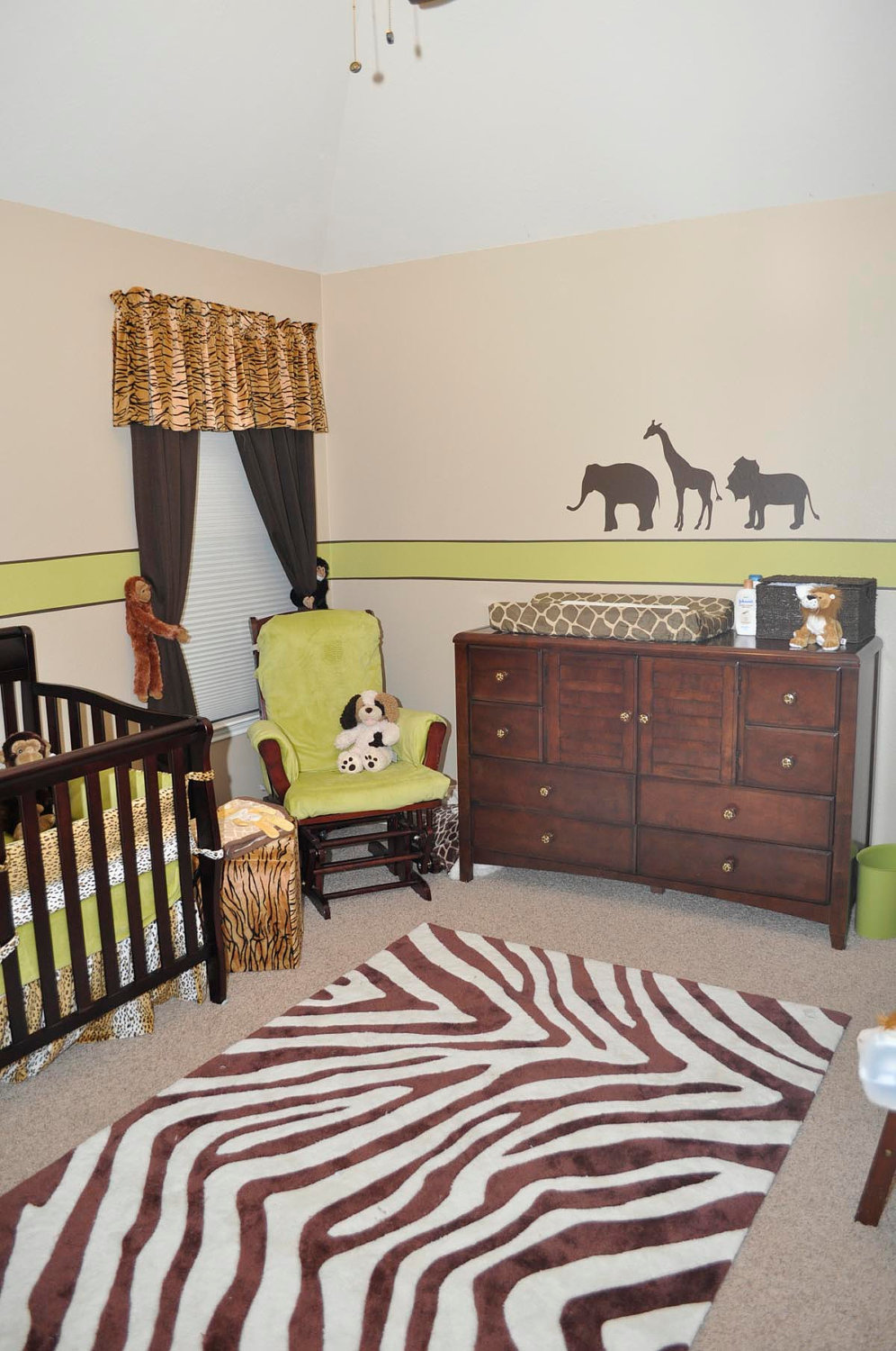 Janey Mac Customer Photo Safari Themed Nursery
