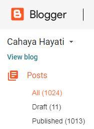 Tak Sangka Blog Cahaya Hayati Dah 1000 Entry