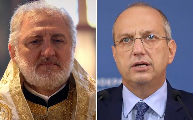 Οικονόμου για Αρχιεπίσκοπο Ελπιδοφόρο: Μας ενόχλησαν οι κινήσεις του