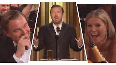 Monólogo de Ricky Gervais protege  Ricky Gervais , Ricky Gervais  e mais