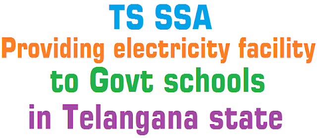 electricity facility,Govt schools,Telangana state