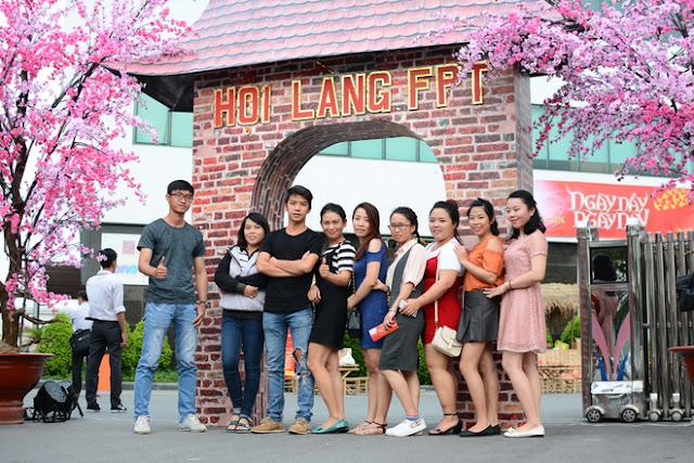 Cán Bộ CNV FPT Hồ Chí Minh Nô Nức Tham Gia Hội Làng