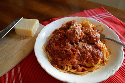 Slow Cooker Meatballs for #National Spaghetti Day