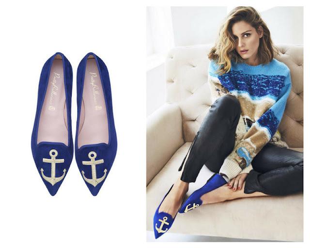 Olivia Palermo diseña una colección de zapatos planos para Pretty Ballerinas que te va a encantar