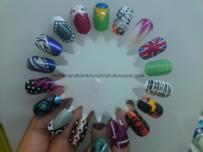Share The Love   Nail Art