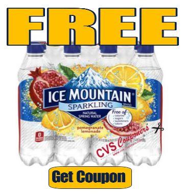 FREE Ice Mountain Sparkling Water