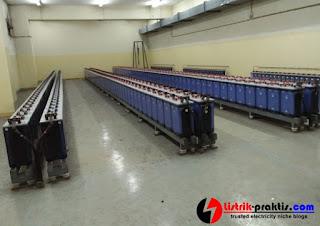 Battery pada UPS pembangkit