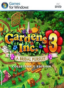 Gardens Inc 3 Bridal Pursuit Collectors Edition PC Games Cover Logo by http://jembersantri.blogspot.com