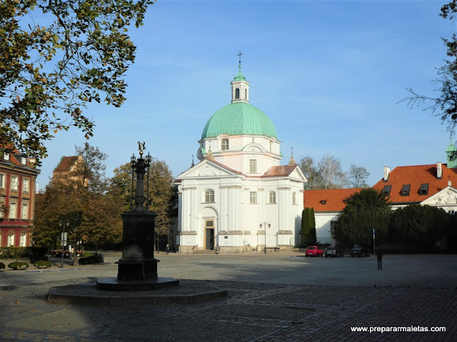 Plaza Ciudad Nueva de Varsovia