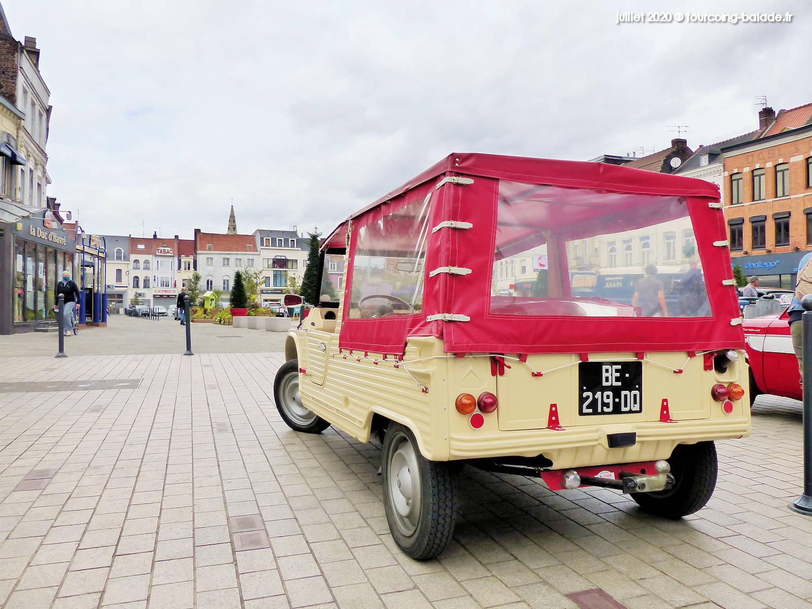 Grand Place Tourcoing 2020 - Citroën Mehari