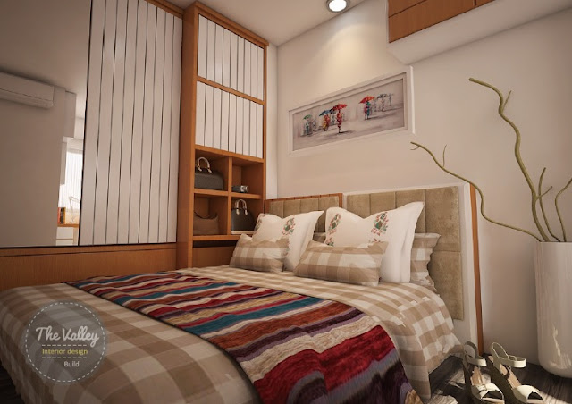Desain Interior Kamar Minimalis Apartemen - The Valley Interior Design