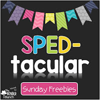 SPED-tacular Sunday Freebies