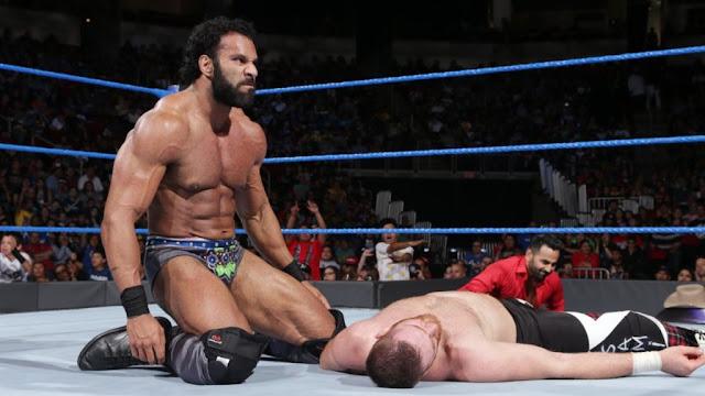 Jinder Mahal Sami Zayn WWE Championship SmackDown Live