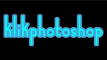 cara membuat garis tepi pada tulisan dengan adobe photoshop