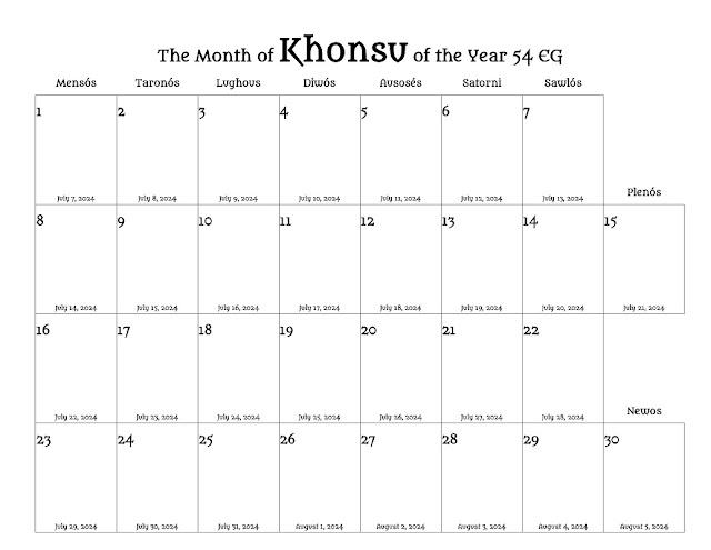 Lunisolar Month
