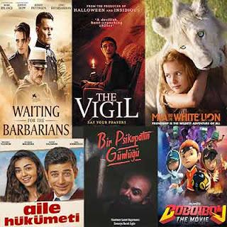 Vizyona Giren Filmler 9 Ekim 2020