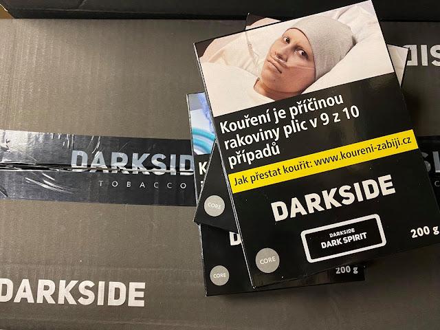 tabák Darkside balení