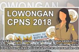 Formasi CPNS Tahun 2018 Akan Dibuka Hingga 200rb Lowongan