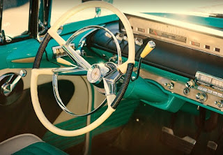 1956 Lincoln Premiere Convertible Steering Wheel