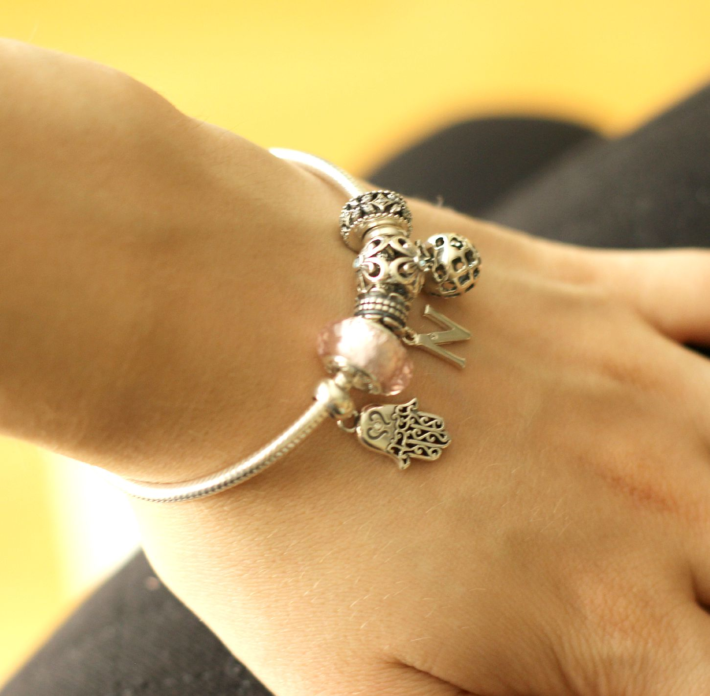 soufeel charms auf pandora armband