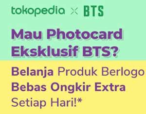 Cara Mendapat Photocard BTS Tokopedia Exclusive