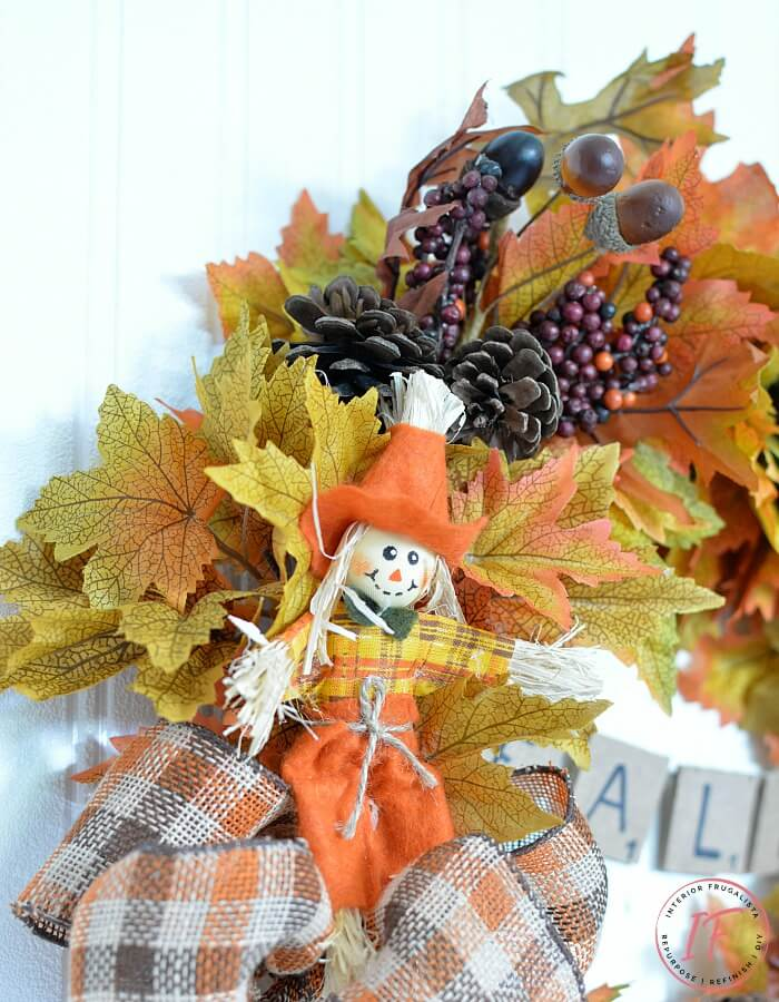 Easy Peasy DIY Fall Pick Wreath