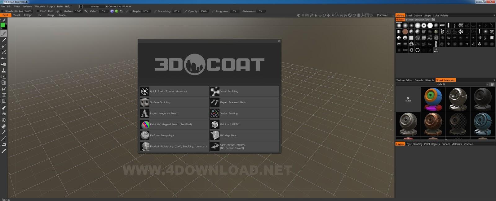 3D Coat v4.8.22 Full version